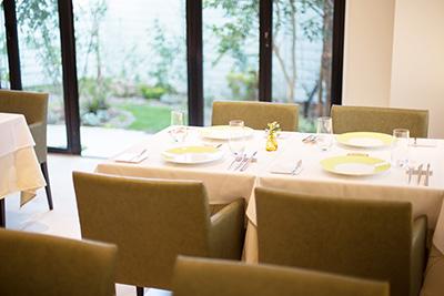 西明石大久保フランス料理シトロニエ家具へのこだわり
