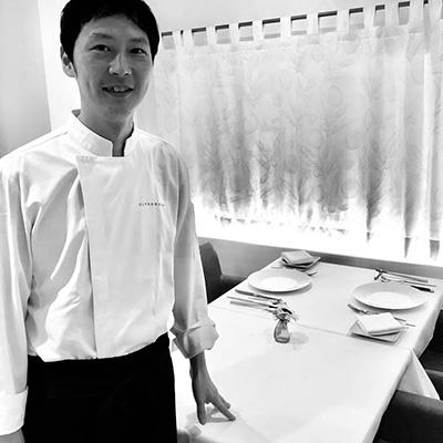 明石フレンチレストランシトロニエ料理長岡谷ご挨拶